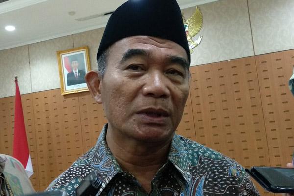 Menteri Pendidikan dan Kebudayaan Muhadjir Effendy - Bisnis.com/Nur Faizah Al Bahriyatul Baqiroh
