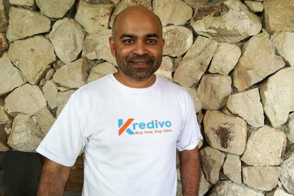 CEO dan pendiri FinAccel, perusahaan tekfin penyedia kartu kredit digital Kredivo, Akhsay Garg - Agne Yasa
