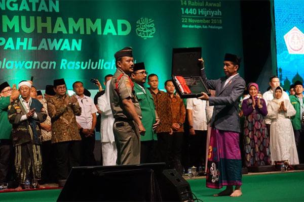GP Ansor menunjukkan bahwa bangsa Indonesia memiliki ketulusan para pejuang dan pahlawan.  - GP ANSOR