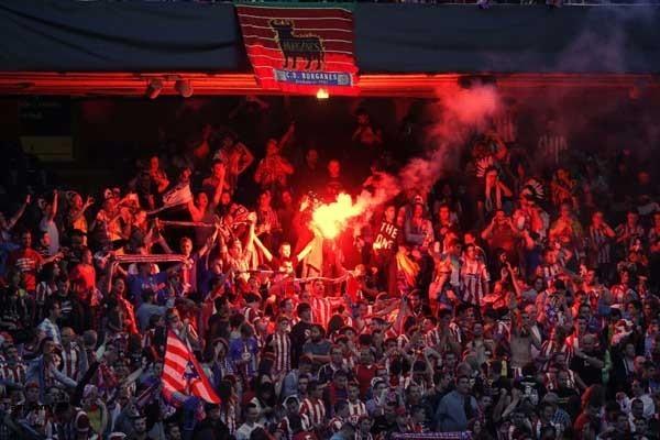 Suporter Atletico Madrid - Reuters/ Andrea Comas