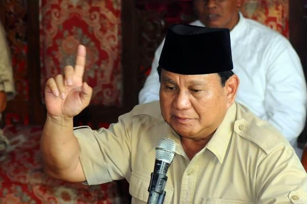 Calon Presiden nomer urut 02 Prabowo Subianto - ANTARA/Aloysius Jarot Nugroho