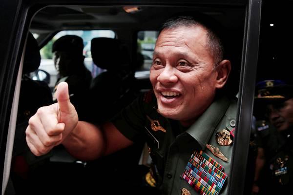 Panglima TNI Jenderal Gatot Nurmantyo. - Reuters/Beawiharta