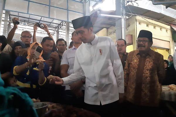 Presiden Joko Widodo . - Bisnis/Yodie Hardiyan