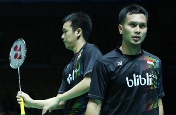 Hendra Setiawan dan Mohammad Ahsan - Badminton Indonesia