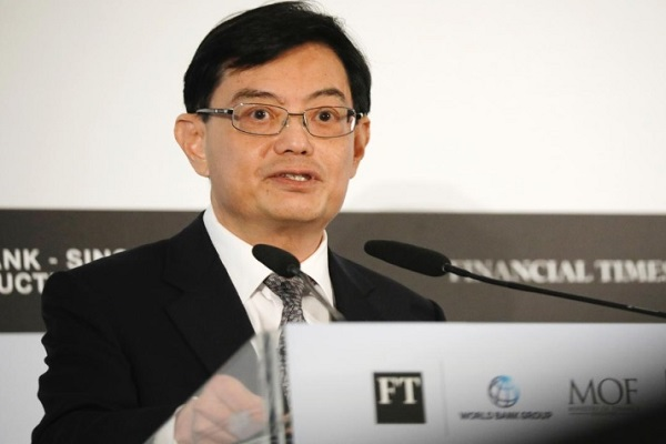 Menteri Keuangan Singapura Heng Swee Keat - Reuters/Edgar Su