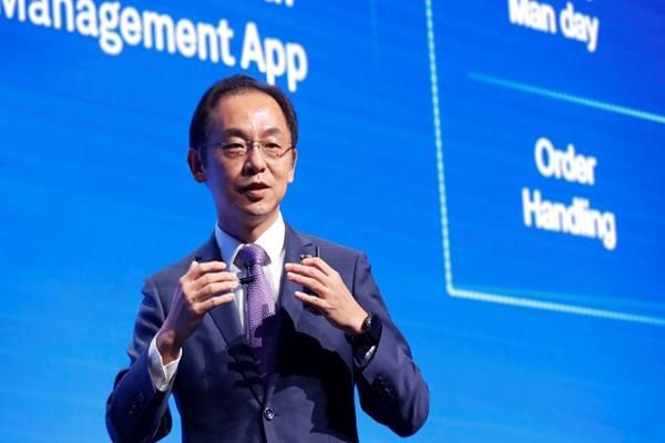 Direktur Eksekutif dan Presiden Grup Bisnis Jaringan Huawei Ryan Ding - www.huawei.com