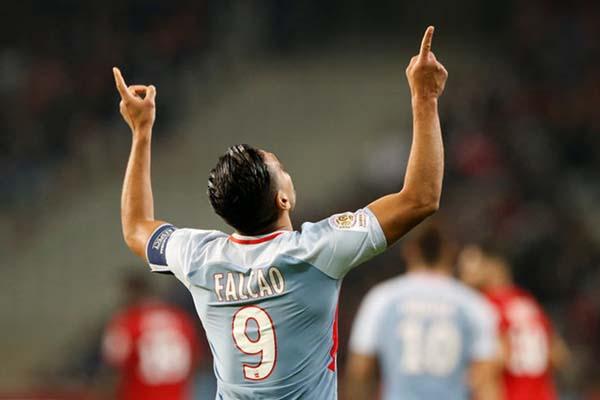 Bomber AS Monaco Radamel Falcao - Reuters/Pascal Rossignol