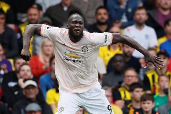 Striker Manchester United Romelu Lukaku - Reuters/David Klein