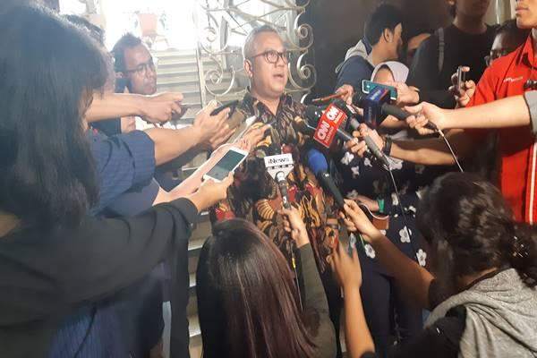 Ketua KPU Arief Budiman. JIBI/BISNIS - Jaffry Prabu Prakoso