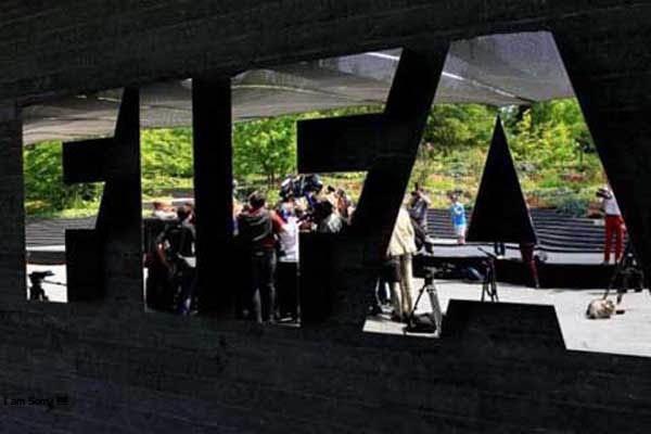 Markas FIFA di Zurich, Swiss. - Reuters/Arnd Wiegmann