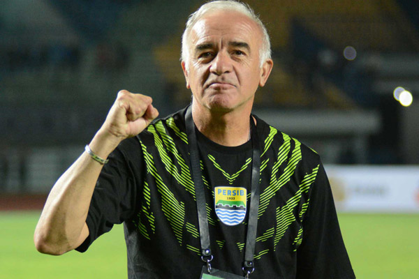 Pelatih Persib Bandung Mario Gomez - Persib.co.id