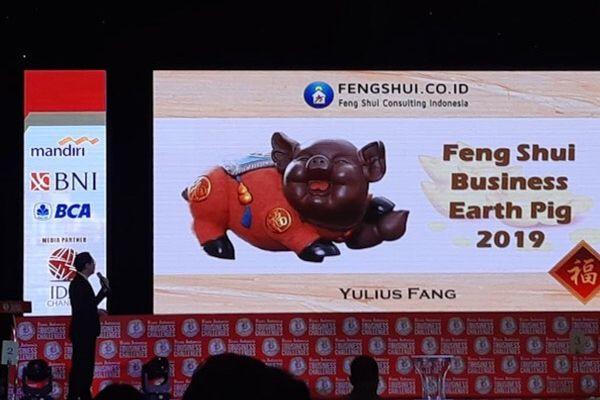 Master Feng Shui Yulius Fang memberikan paparan dalam