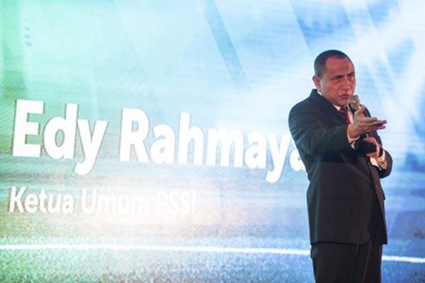 Ketua Umum PSSI Edy Rahmayadi - Antara/M. Agung Rajasa