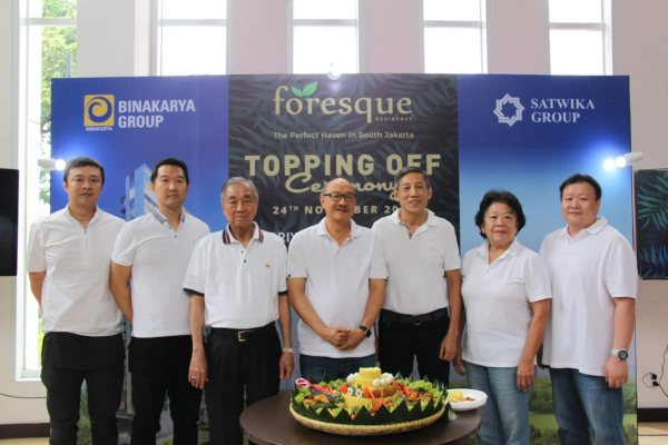 Acara Topping Off Foresque Residence - Istimewa