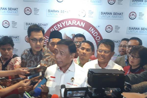 Menteri Koordinator Politik Hukum dan Kemanan (Menkopulhukam) Wiranto. - Bisnis/Jaffry Prabu Prakoso