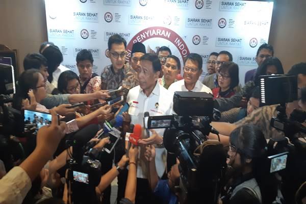 Menteri Koordinator Bidang Politik, Hukum, dan Keamanan Wiranto. JIBI/BISNIS - Jaffry Prabu Prakoso