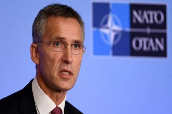 - Sekretaris Jenderal Organisasi Pakta Atlantik Utara (NATO) Jens Stoltenberg. - Istimewa