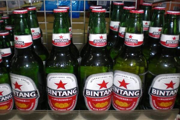 PT Multi Bintang Indonesia Tbk sebagai produsen bir Bintang - wikipedia.org