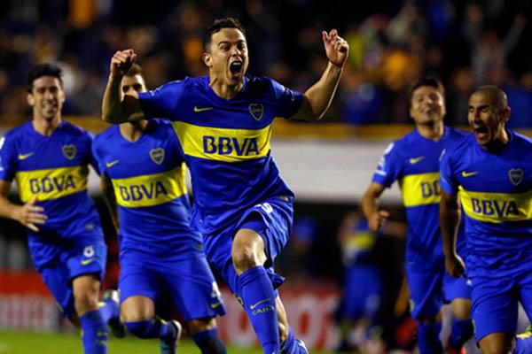 Boca Juniors - Reuters/Enrique Marcarian