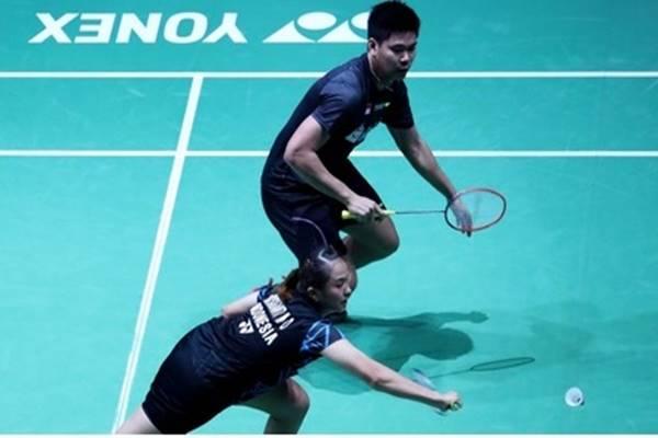 Ganda campuran Indonesia Praveen Jordan/Melati Daeva Oktavianti - www.badmintonindonesia.org