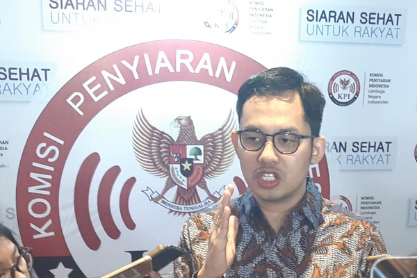 Ketua Komisi Penyiaran Indonesia (KPI) Yuliandre Darwis. - Bisnis/Jaffry Prabu Prakoso