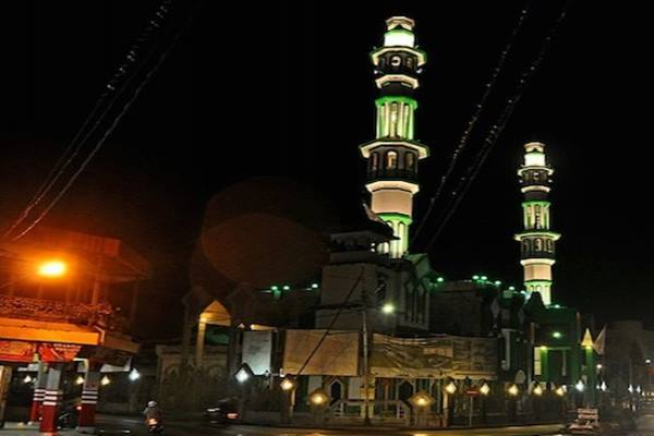 Masjid Raya SIngkawang Kalimantan Barat. - Antara