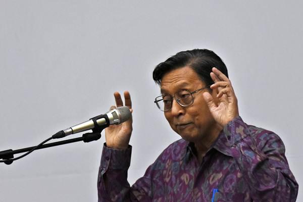 Wakil Presiden periode 2009-2014 Boediono. - ANTARA/Indrianto Eko Suwarso