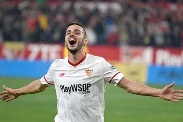 Ujung tombak Sevilla Pablo Sarabia - Twitter@SevillaFC
