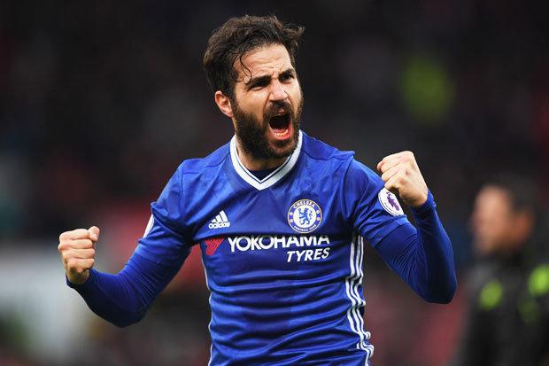 Gelandang Chelsea, Cesc Fabregas. - Daily Mirror