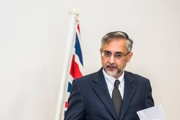 Duta Besar Inggris untuk Indonesia Moazzam Malik - Antara