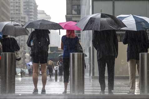 Hujan lebat - Antara