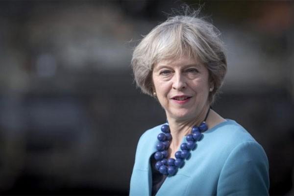 PM Inggris Theresa May - Reuters
