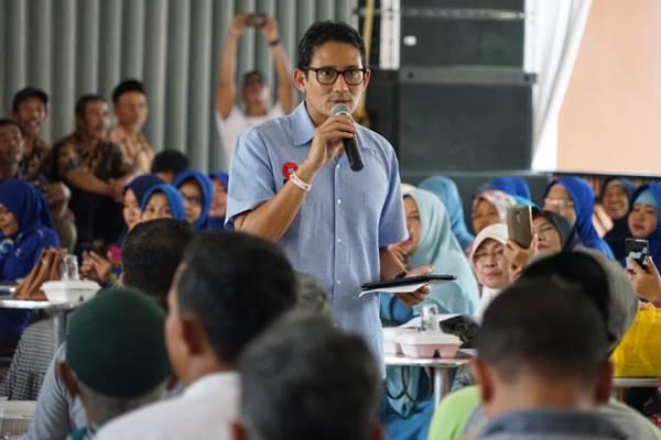 Sandiaga Uno - Dok. Timses Prabowo Subianto/Sandiaga Uno
