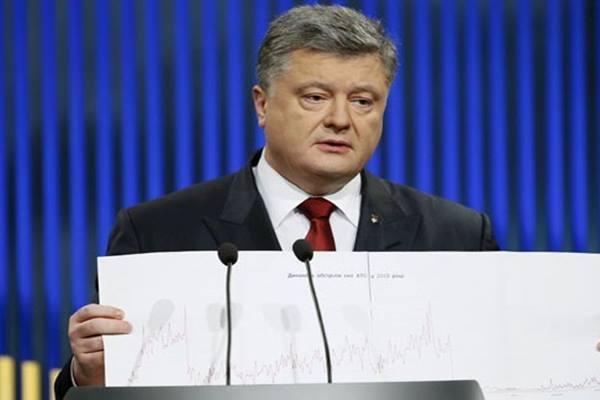 Presiden Ukraina Petro Poroshenko - Reuters