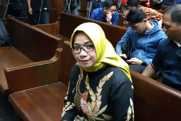 Eni Maulani Saragih di Pengadilan Tipikor Jakarta Pusat, Kamis (29/11/2018). - Bisnis.com // Rahmad Fauzan