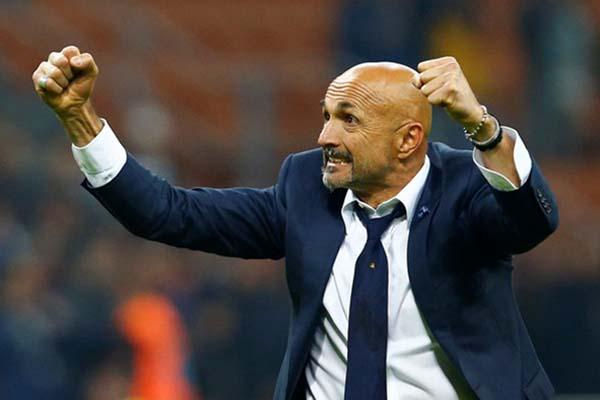 Pelatih Inter Milan Luciano Spalletti - Reuters/Alessandro Garofalo