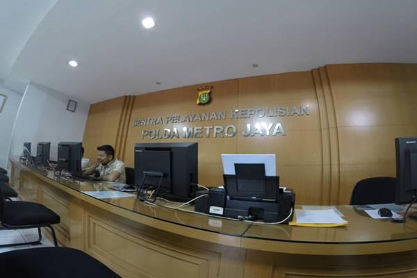 Sentral Pelayanan Kepolisian Terpadu (SPKT) Polda Metro Jaya. - Istimewa