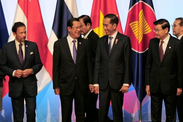 Presiden Jokowi saat menghadiri KTT Asean di Singapura - Biro Pers Setpres
