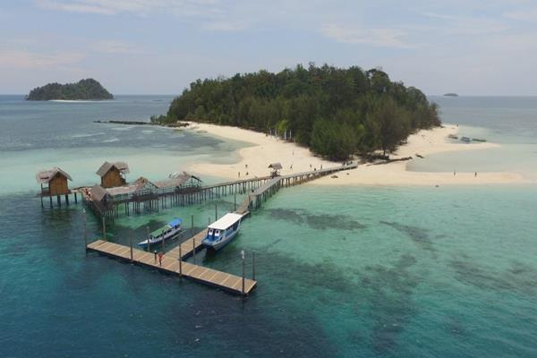 Pulau Saronde di Gorontalo. - wikipeda