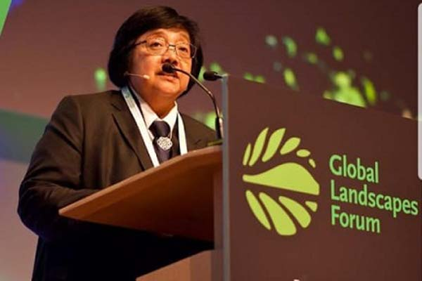 Menteri Lingkungan Hidup dan Kehutanan (LHK) Siti Nurbaya Bakar hadir sebagai pembicara kunci dalam pertemuan Konferensi Global Landscapes yang berlangsung 1-2 Desember di Bonn, Jerman. - Istimewa