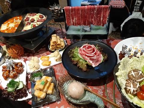 Salah satu kreasi tenant dalam Good Food Festival 2018 di Plaza Indonesia - Bisnis/Eva Rianti