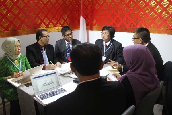 Menteri Lingkungan Hidup dan Kehutanan (LHK) Siti Nurbaya Bakar tengah memimpin delegasi Indonesia pada COP24 di Polandia, yang berlangsung 2-14 Desember 2018. - Istimewa
