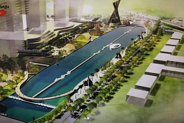 Gubernur Jawa Barat Ridwan Kamil merilis desain baru revitalisasi Kalimalang untuk obyek wisata. - INstagram@ridwankamil