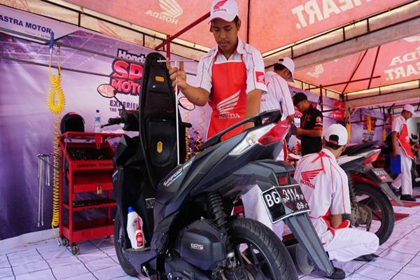 Honda Sport Motoshow 2018 Upaya Ajak Konsumen Buktikan