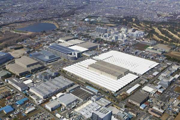 Kawasan Gudang Kanto di Jepang.  - Nissan