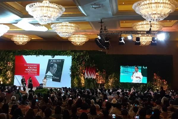 Suasana peluncuran buku 'Jokowi Menuju Cahaya' - Bisnis/Amanda Kusumawardhani