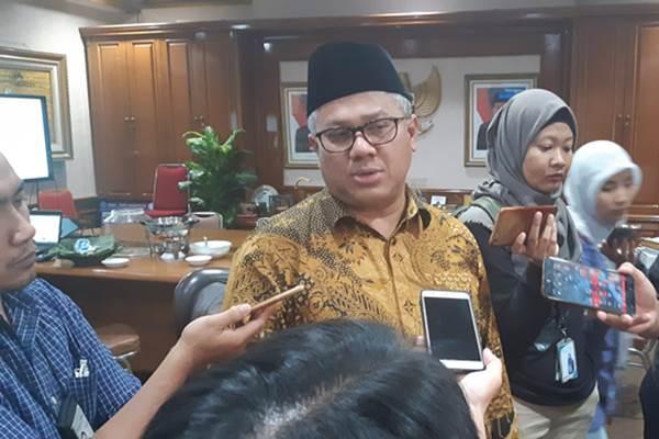 Ketua Komisi Pemilihan Umum Arief Budiman - Bisnis/Jaffry Prabu Prakoso