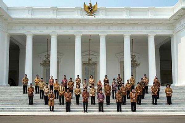 Kabinet Kerja Jokowi-JK - Antara