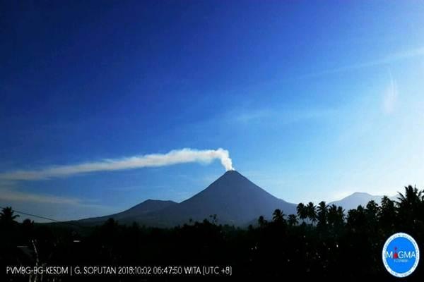 Gunung Soputan erupsi - Dok.Magma Indonesia