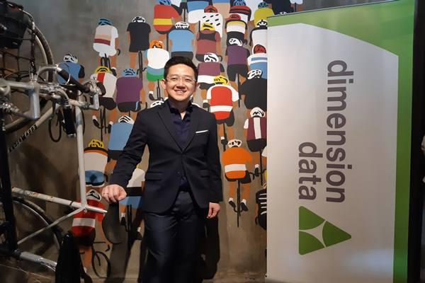 CEO Dimension Data Indonesia Hendra Lesmana. JIBI/BISNIS - Syaiful Millah